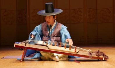 Una de les imatges de l'exposició 'Eolssigu! Els sons de Corea'