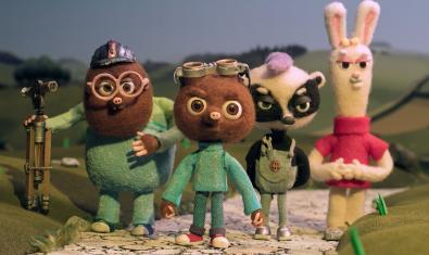 Els protagonistes de la pel·lícula.