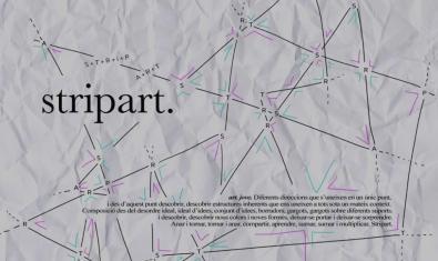Un mapa de puntos sirve de cartel a la edición de este año