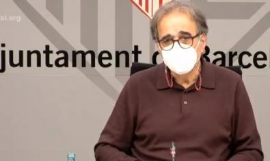 Joan Subirats, durant la roda de premsa del 3 de novembre