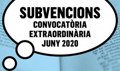 Imagen de la convocatoria de subvenciones