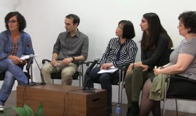 Un moment de la taula rodona organitzada per l'Institut Confuci