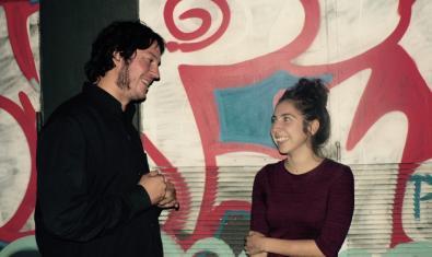 Christian Simeilo y Irati Majuelo