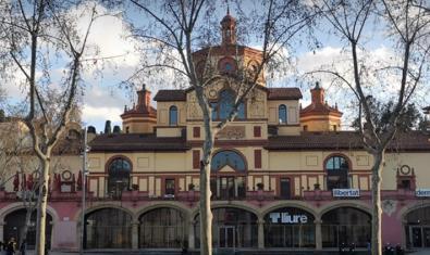 Façana del Teatre Lliure de Montjuïc