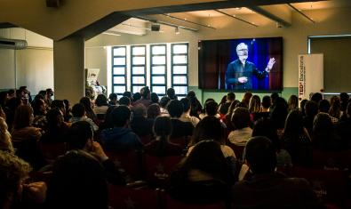 Imatge d'una sessió de TEDxBarcelonaLive