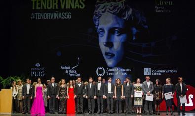 Los ganadores del 56º Concurso Tenor Viñas (2019)