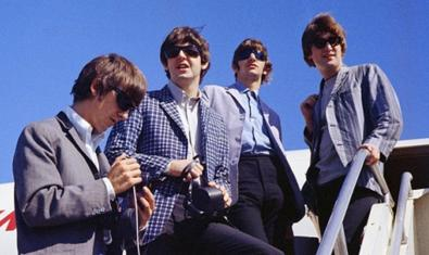 Una imagen del cuarteto de Liverpool