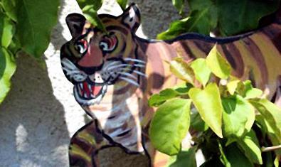 El tigre és un dels protagonistes dels contes.