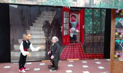 El espectáculo de títeres: Petjades d'en Puig i Cadafalch
