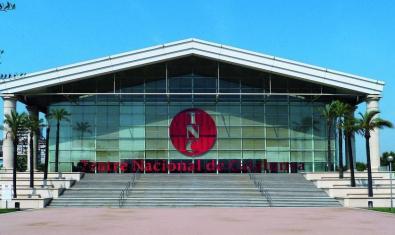 Façana del Teatre Nacional de Catalunya