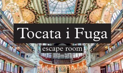 L'escape room 'Tocata i fuga', del Palau de la Música i Mission Leak