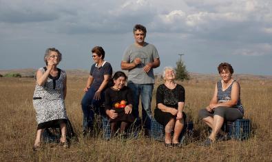 Imagen del documental griego 'Los tomates escuchan Wagner'