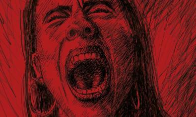 El dibujo de una mujer que grita, en el cartell que anuncia la propuesta