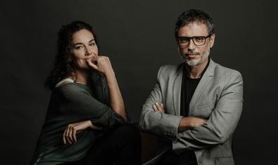 Laura Conejero y Julio Manrique, protagonistas de 'Una història real'