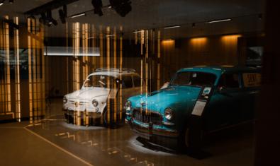 La exposición '70 años en movimiento' en la CASA SEAT