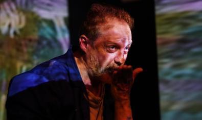 L'actor Jaume Garcia Arija com a Van Gogh