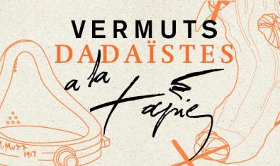 Imatge promocional dels vermuts dadaistes a la Fundació Tàpies