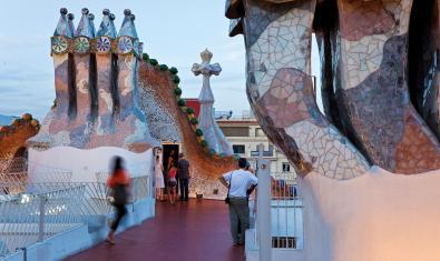 Els Vermuts Musicals a la terrassa de la Casa Batlló aquest octubre