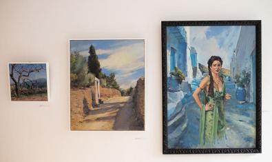 'Mediterráneo luces y sombras' de Jannat El Harrak en el Reial Cercle Artístic