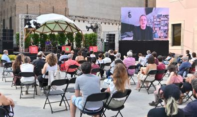 Imagen de una actividad de la Bienal Ciudad y Ciencia