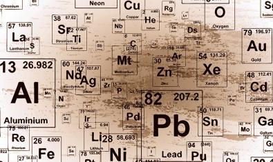 Símbolos de elementos químicos
