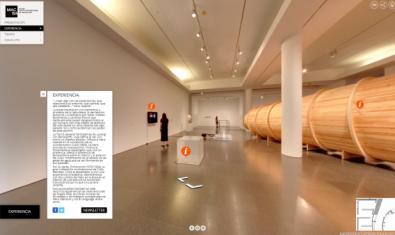 La 'Col·lecció MACBA 31' es pot veure a través d'un recorregut virtual