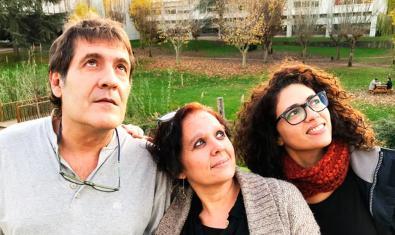 Los tres intérpretes de 'Volem (si volem)'