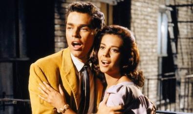 Richard Beymer y Natalie Wood en 'West Side Story'