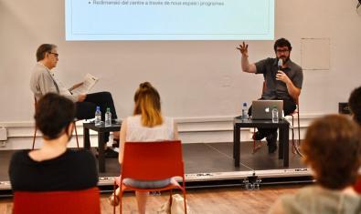 David Armengol presenta el projecte de direcció de La Capella