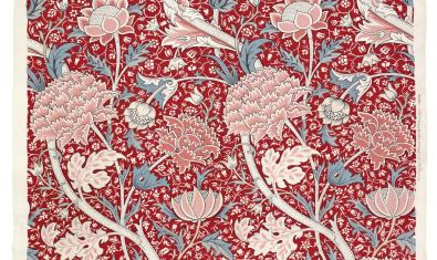 Detalle de una obra de William Morris para Morris & Co. © The Whitworth, The University of Manchester
