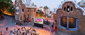 Sesión de cine en el Park Güell organizada por el MUHBA