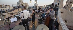 Imagen de uno de los conciertos de jazz que se han hecho en las Noches de verano