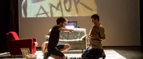 Un moment d''All by Myself', muntatge d'Alejandro Curiel que clourà el cicle