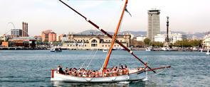 Una ruta en barca pel Port de Barcelona