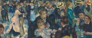 A l'exposició s'hi podran veure obres com 'Bal du Moulin de la Galette'