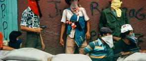 Una de las imágenes de Susan Meiselas que se puede ver en la exposición