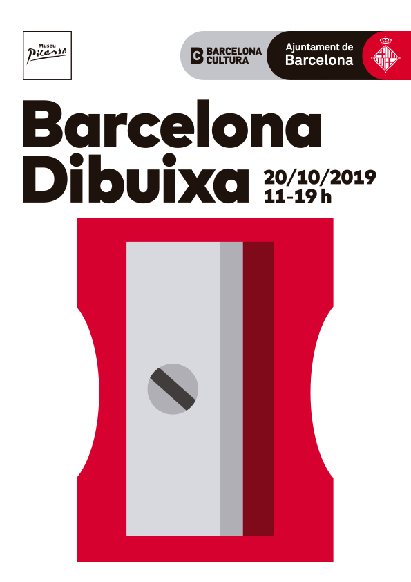 Cartell Barcelona Dibuixa 2019