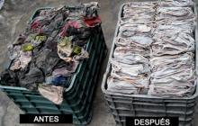 Reducció de residus de draps industrials