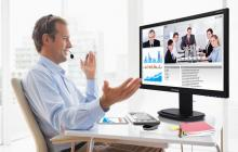 Reducción de vuelos y mayor utilización de videoconferencias