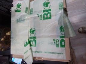 Bosses compostables Minimitzar la petjada ecològica a sobre el planeta.