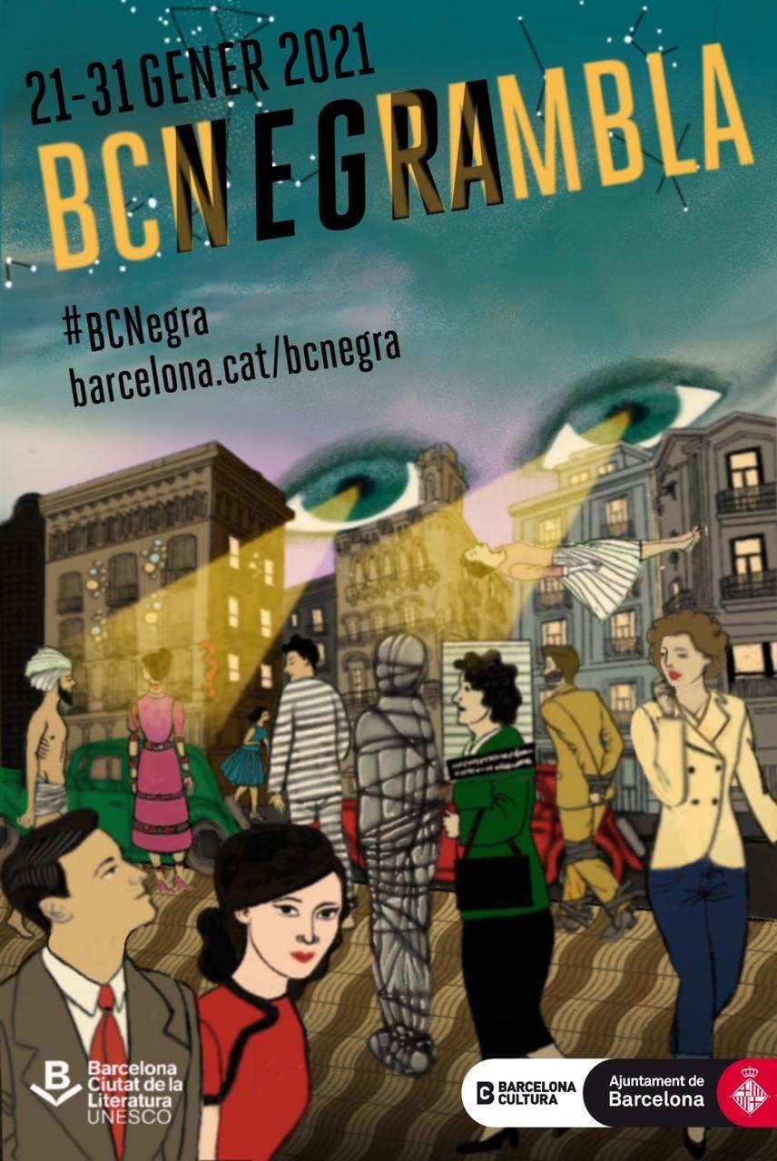 Cartell BCNegra 2020 (Susana Blasco)
