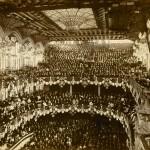 Concert inaugural del Palau de la Música Catalana, el 9 de febrer de 1908.