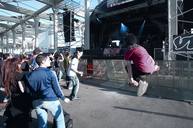 Concert del grup Standsill al festival Primavera Sound de l'any 2007, al parc del Fòrum.