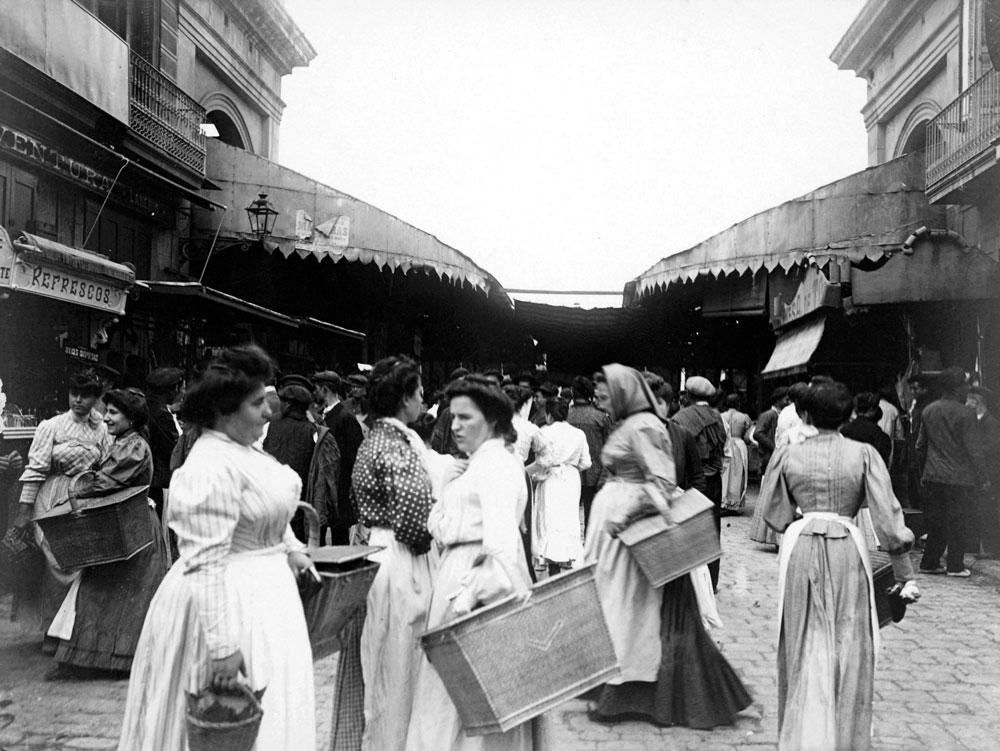 Mercat Boqueria 1907