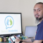 Víctor Bautista, creador de l'aplicació Social Diabetes