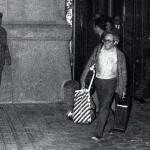 Huertas sortint de la presó el 13 d'abril de 1976. Foto: Pepe Encinas / Europa Press.