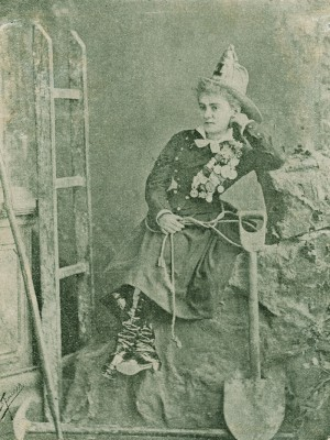 Foto: Álbum de Clotilde Cerdà i Bosch. Biblioteca de Catalunya