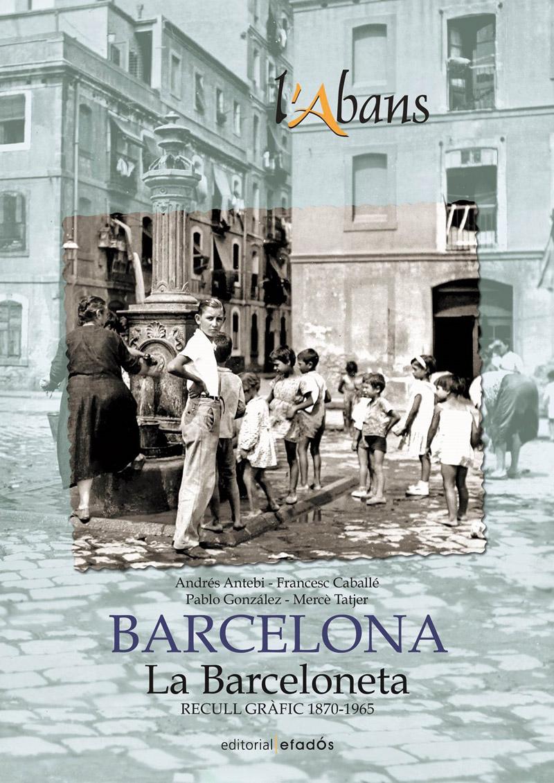 """Carátula del libro sobre el barrio de la Barceloneta de la colección """"L'Abans"""""""