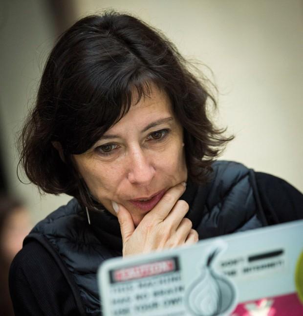 Simona Levi. Photo: Pere Virgili