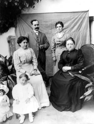 Foto: Archivo Municipal del Distrito de Les Corts / Colección de la familia Brengaret-Framis